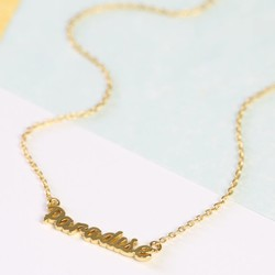 Orelia Gold 'Paradise' Necklace