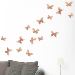 Umbra Copper Mariposa Butterfly Wall Display