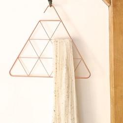 Umbra Copper Triangle Pendant Scarf Hanger