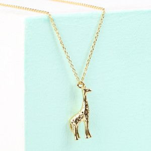 Gold Giraffe Necklace