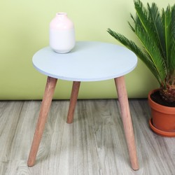 Large Concrete Effect Side Table