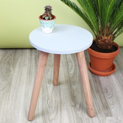 Small Concrete Effect Side Table