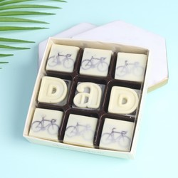 Choconchoc 'Dad' Bicycle Chocolates
