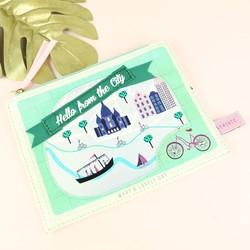 Disaster Designs Memento City Make Up Bag