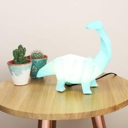 Disaster Designs Nordikka Green Origami Diplodocus Dinosaur Lamp