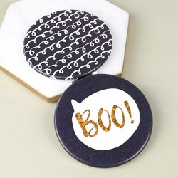 Disaster Designs Yoo Hoo 'Boo' Compact Mirror