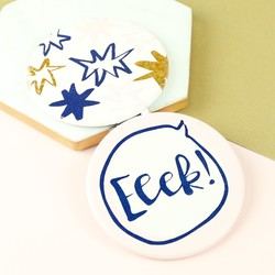 Disaster Designs Yoo Hoo 'Eeek' Compact Mirror