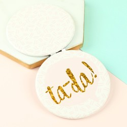 Disaster Designs Yoo Hoo 'Ta-da' Compact Mirror