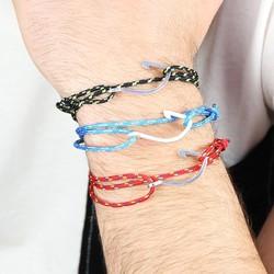 Personalised Cord and Hook Bracelet