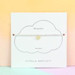 Estella Bartlett Silver Laila Bee Bracelet