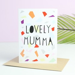 Geometric Mother's Day Card