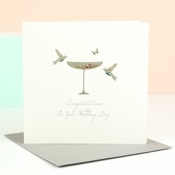 Five Dollar Shake 'Congratulations' Wedding Card