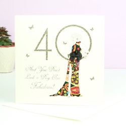 Five Dollar Shake '40' Birthday Card