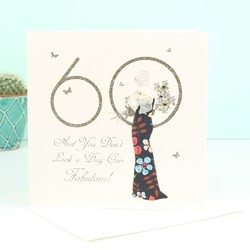 Five Dollar Shake '60' Birthday Card
