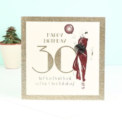 Five Dollar Shake '30' Birthday Card