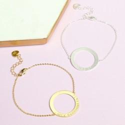 Personalised Hoop Bracelet