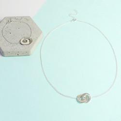 Personalised Interlocking Necklace and Bracelet Set
