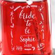 Lisa Angel Personalised 'Bride to Be' Mason Jar