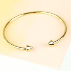 Orelia Open Cone Bangle