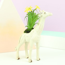 Giraffe Flower Pot