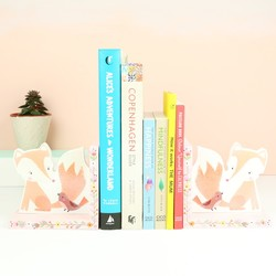 Woodland Friends Fox Bookends