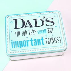 'Dad's Important Things' Tin