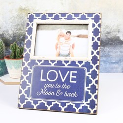 'Love You To The Moon and Back' Photo Frame