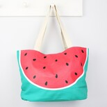 South Beach Watermelon Beach Bag