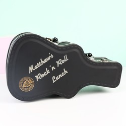 Personalised Suck UK Guitar Case Lunch Box