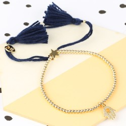 Personalised Dainty Links Star Bracelet