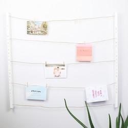 Personalised Umbra White 'Hangit' Photo Display