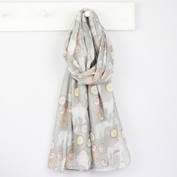 Personalised Elephants and Doughnuts Scarf