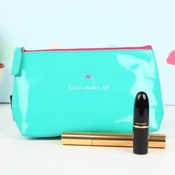 Happy Jackson 'Kiss + Make Up' Cosmetics Bag
