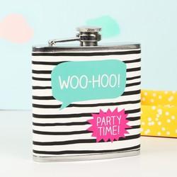 Happy Jackson 'Woo-Hoo' Hip Flask