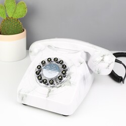 1960s Marble Effect 746 Retro Telephone