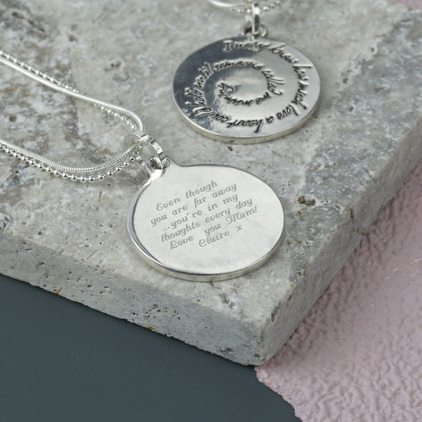 Quote Jewelry | Personalised Mummy Quote Necklace Lisa Angel