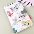 Colourful House of Disaster 'Colour Me' Hummingbird Travel Wallet from Lisa Angel