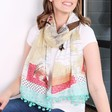 Lisa Angel Disaster Designs Bon Voyage World Scarf