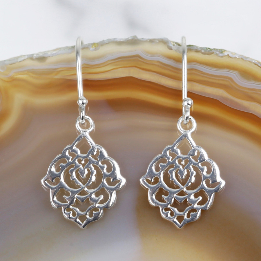 hoop dp silver fine sterling diameter earrings bali filigree jewelry
