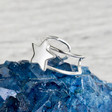 Lisa Angel Sterling Silver Star Ear Cuff