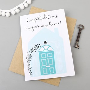 'Congratulations on your New Home' Greetings Card