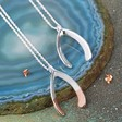 Lisa Angel Large Wishbone Necklaces