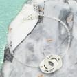 Lisa Angel Ladies' Personalised Sterling Silver Interlocking Bracelet