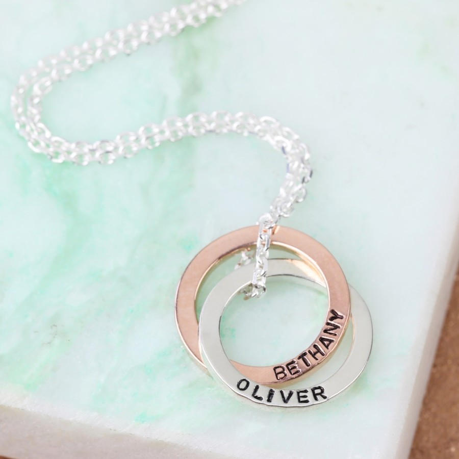pendant charmour pendants personalised circle