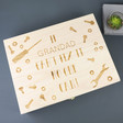 Lisa Angel Personalised 'Fix It' Large Wooden Gift  Box