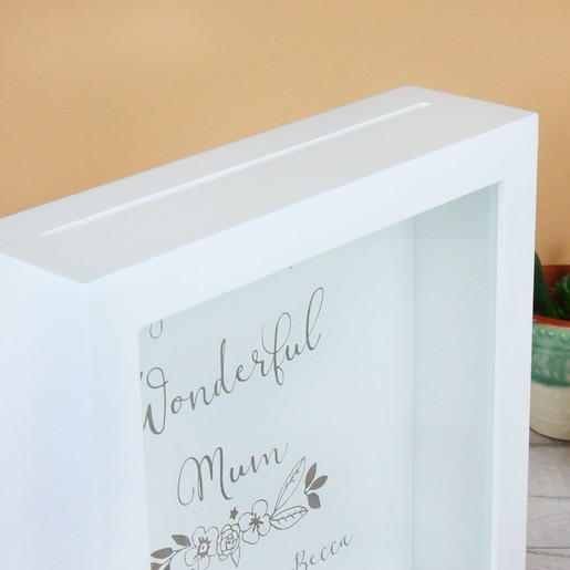 Personalised Wonderful Mum Memory Box Frame Lisa Angel