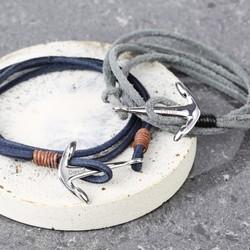 c1806cf1ff92d Men's Jewellery | Personalised Leather Bracelets | Lisa Angel UK