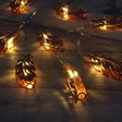 Copper Feather LED String Lights
