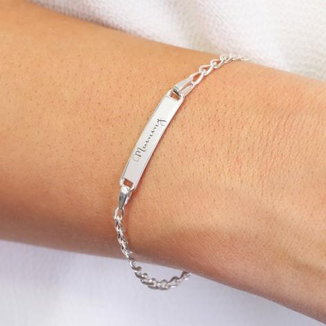 Personalised Identity Bracelet 5c44jK5f