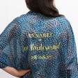 Lisa Angel Ladies' Cute Personalised Bridal Party Peacock Feather Print Kimono